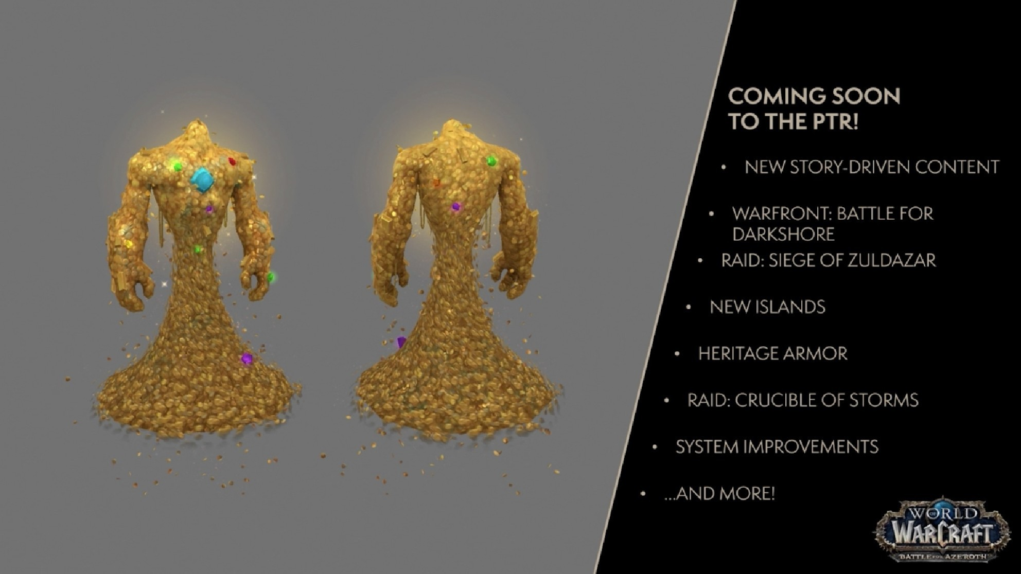 Upcoming WoW content revealed