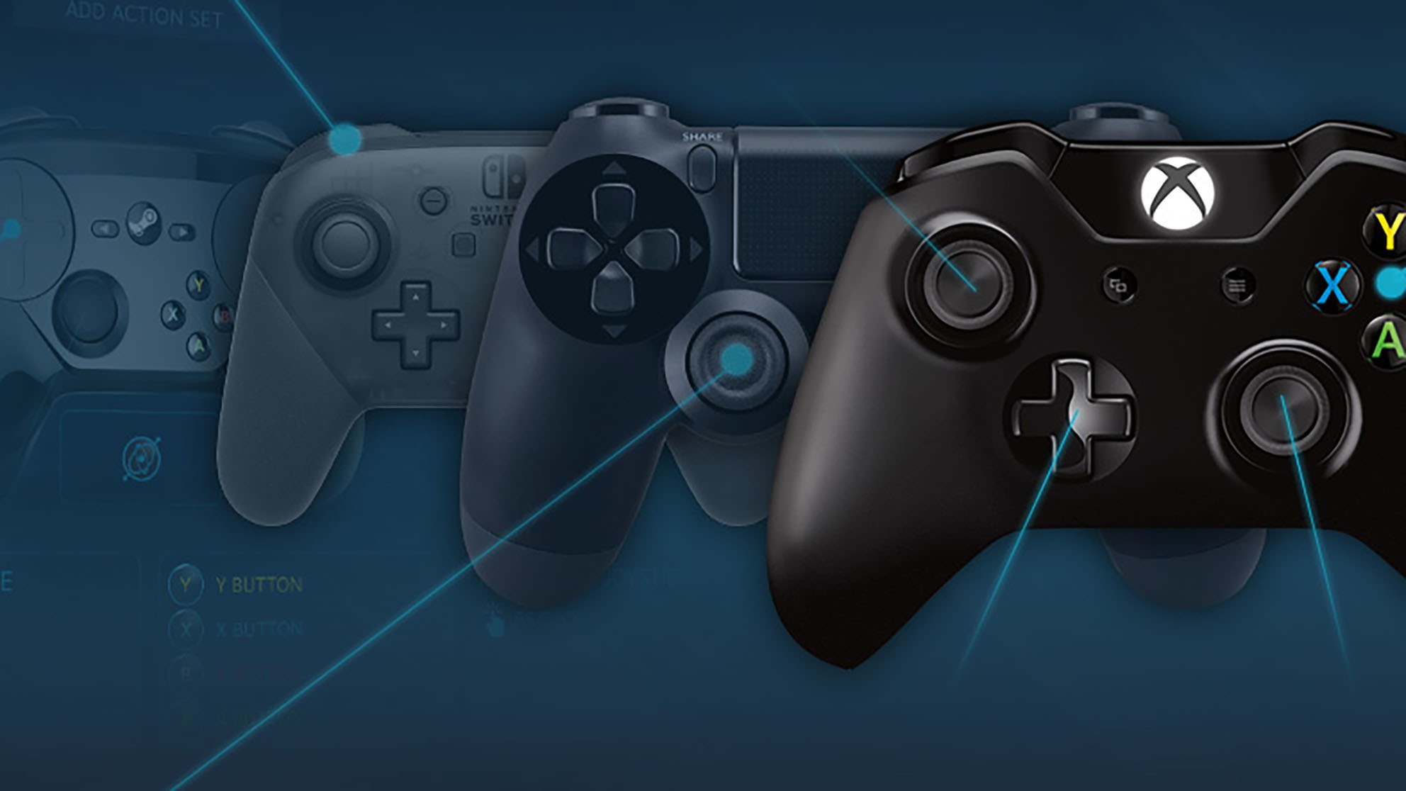 Steam reveals the most popular gamepads used by PC gamers