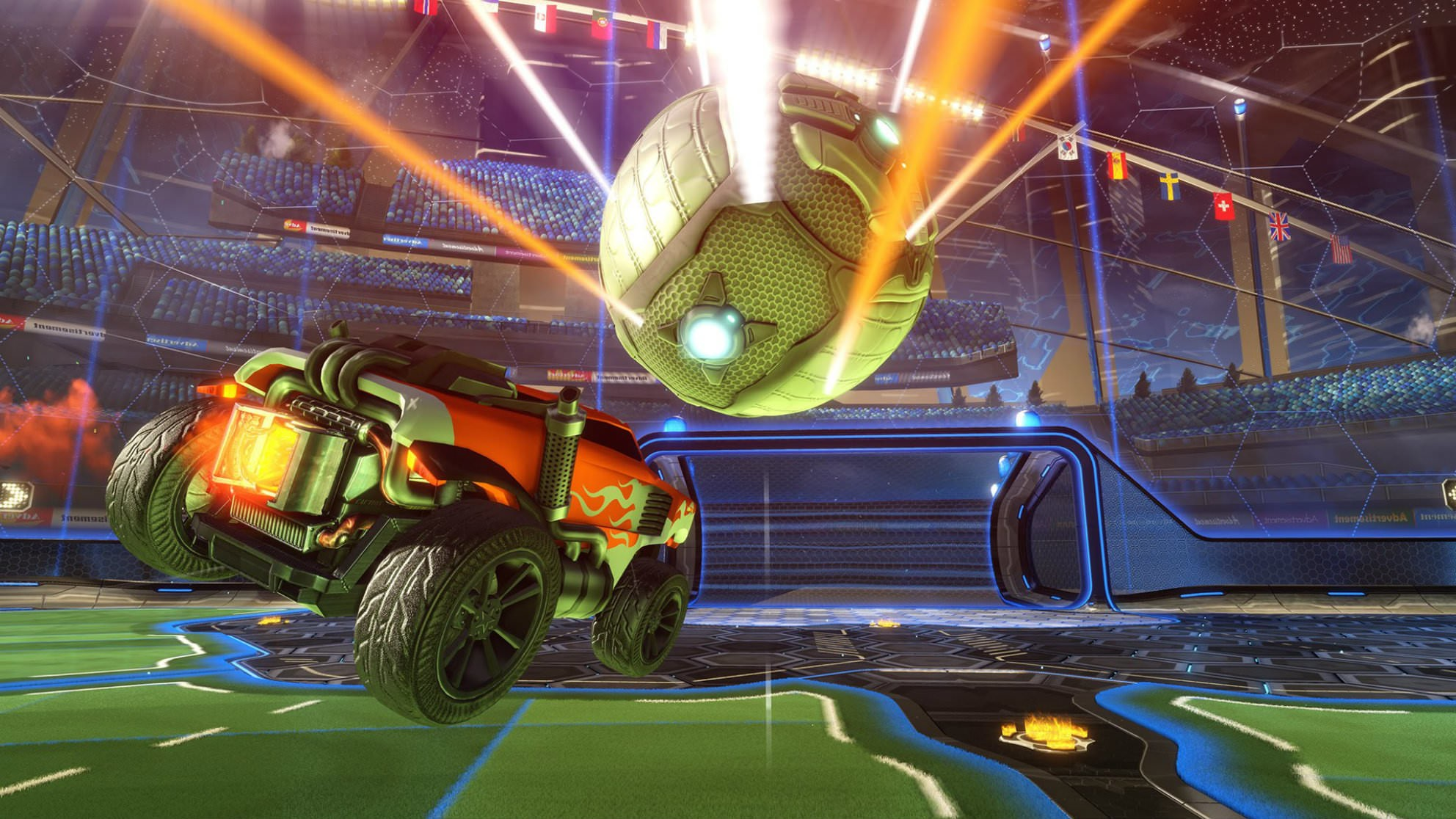 Rocket League is giving players double the XP this weekend