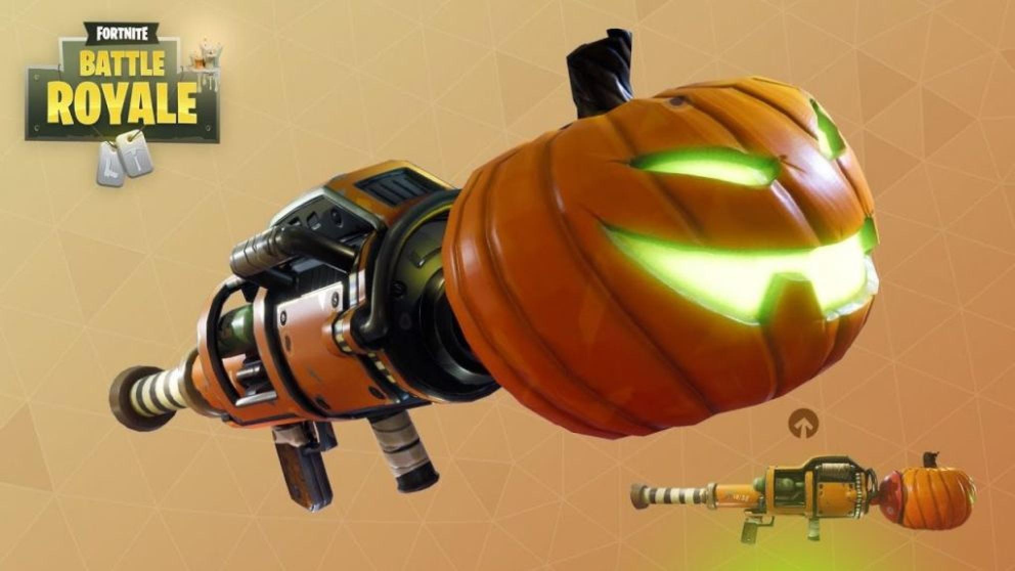 Pumpkin Rocket Launcher returns to Fortnite