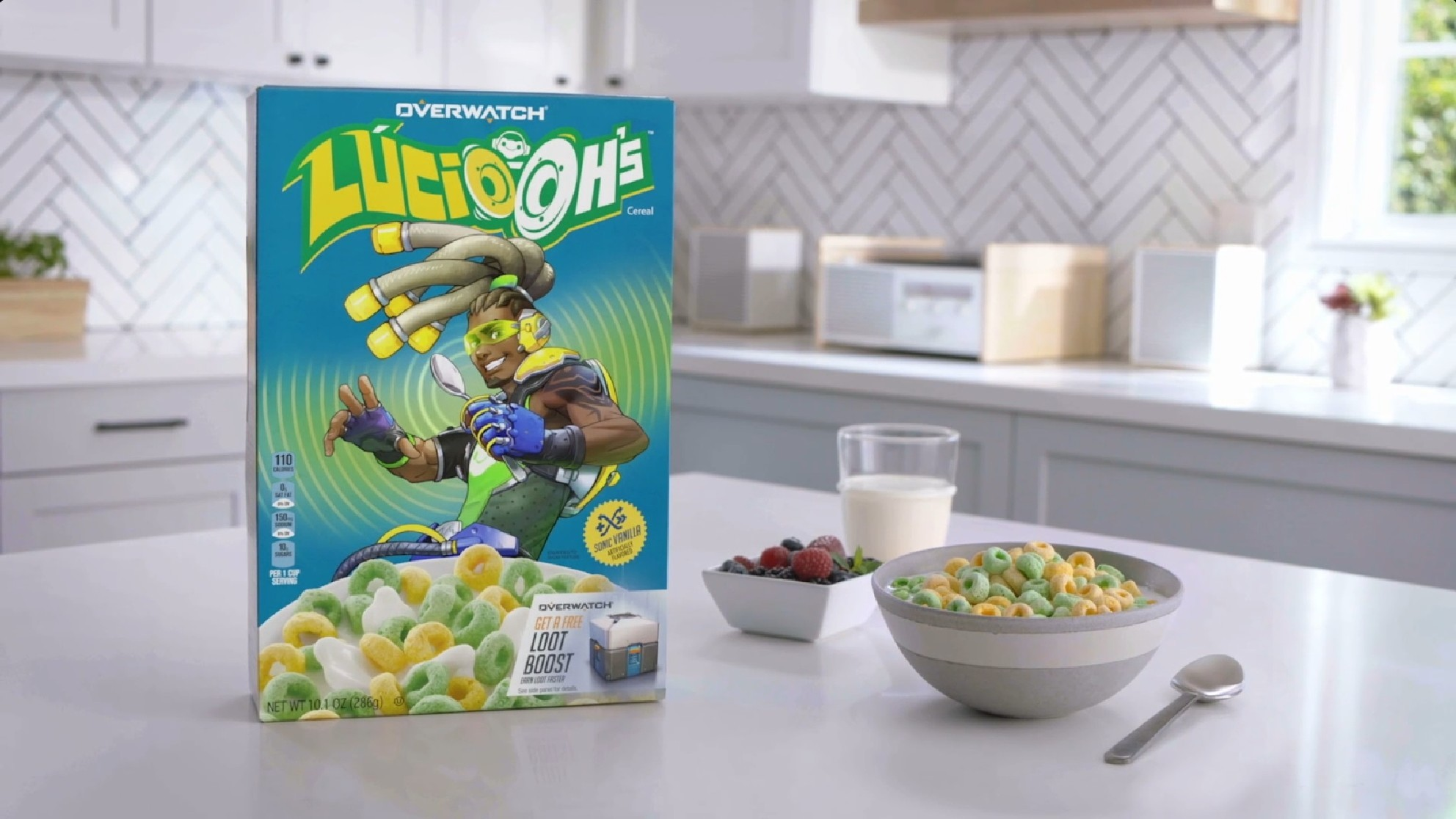 Overwatch-themed Breakfast Cereal Coming in December