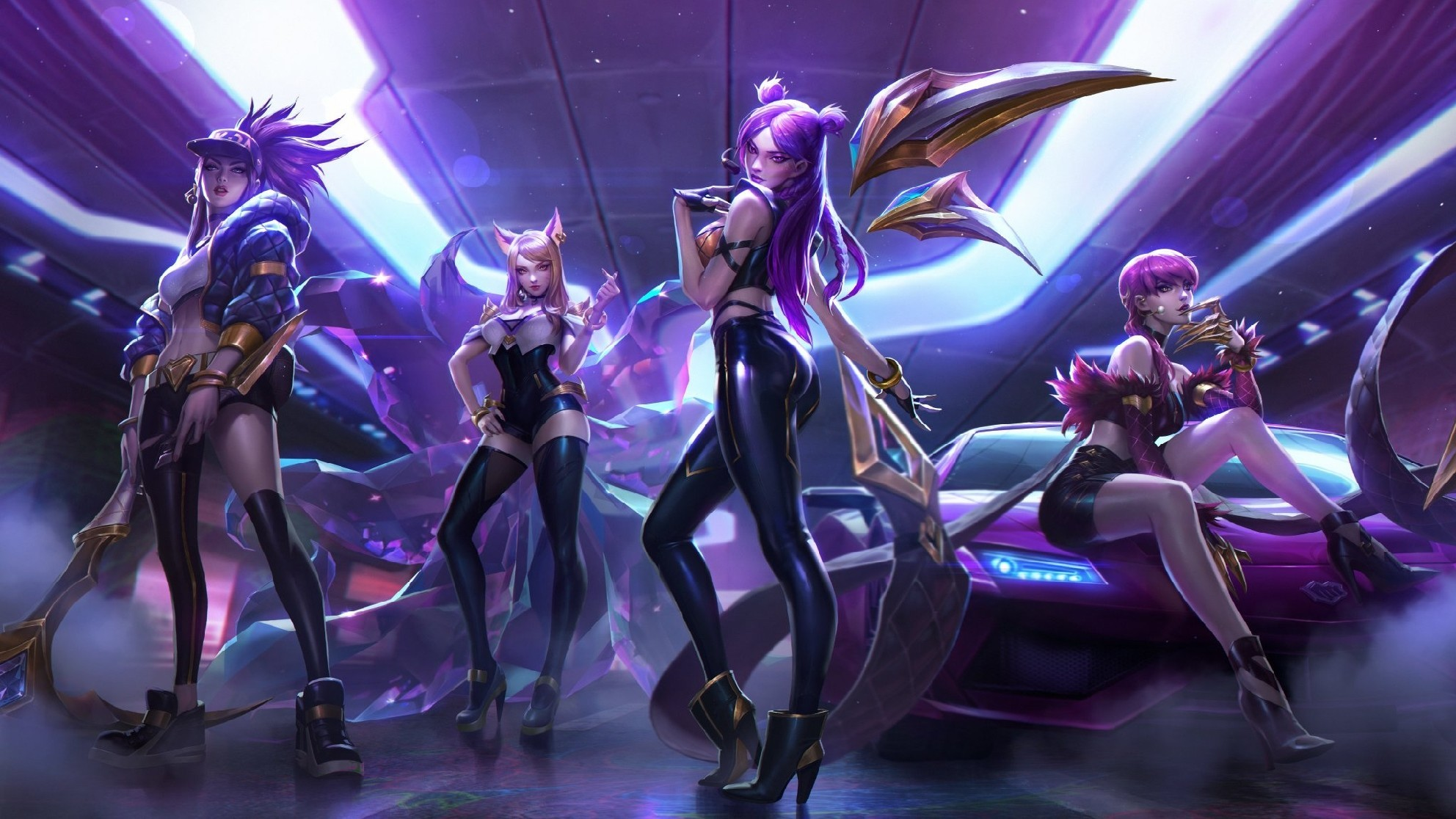 Yes, Riot Created a League of Legends K-POP Group