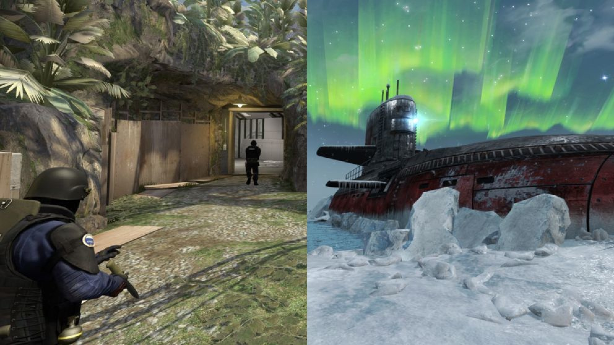CS:GO update added Biome and Subzero to competitive matchmaking