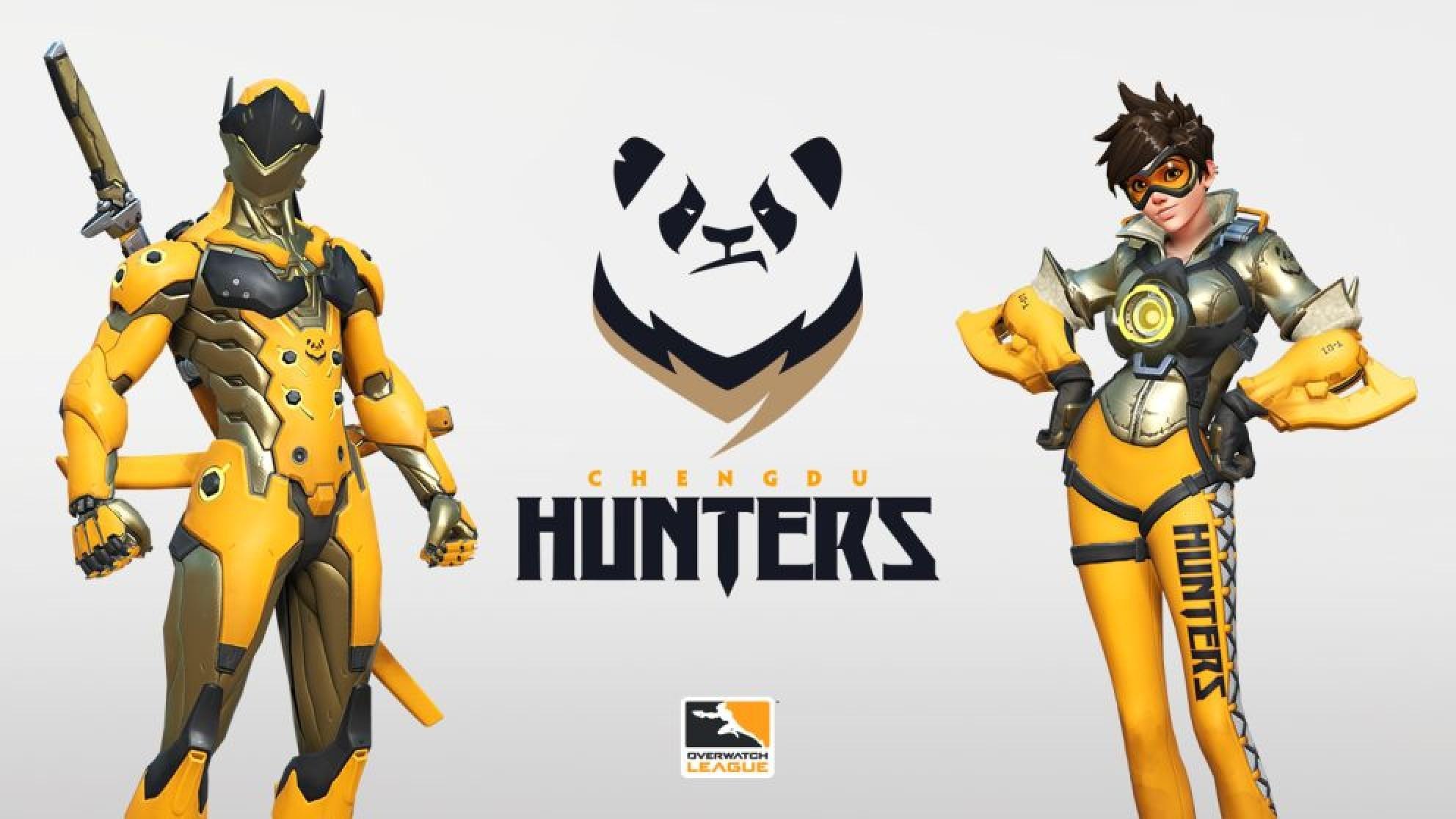 Chengdu Hunters  - Chinese OWL Expansion Team Revealed