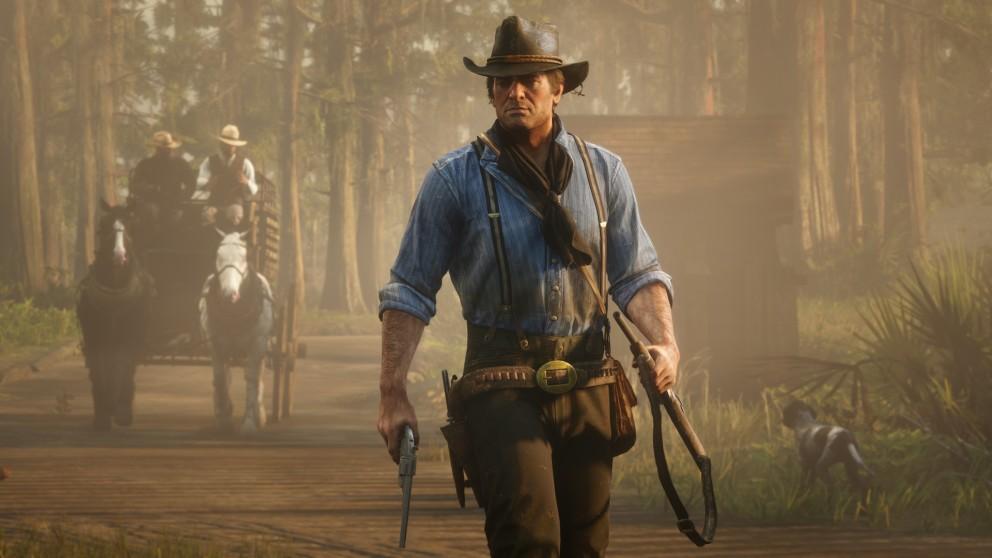Артура Моргана из Red Dead Redemption 2 раздели с помощью мода