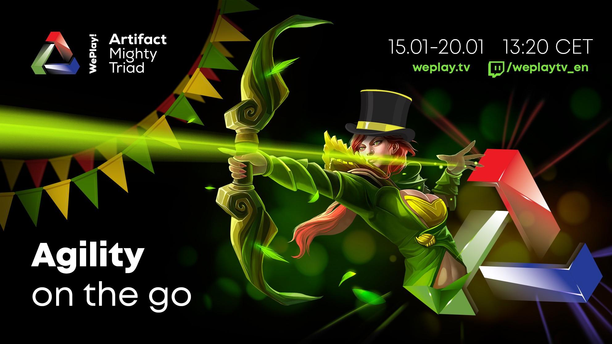 Анонс групп WePlay! Artifact Mighty Triad: Agility