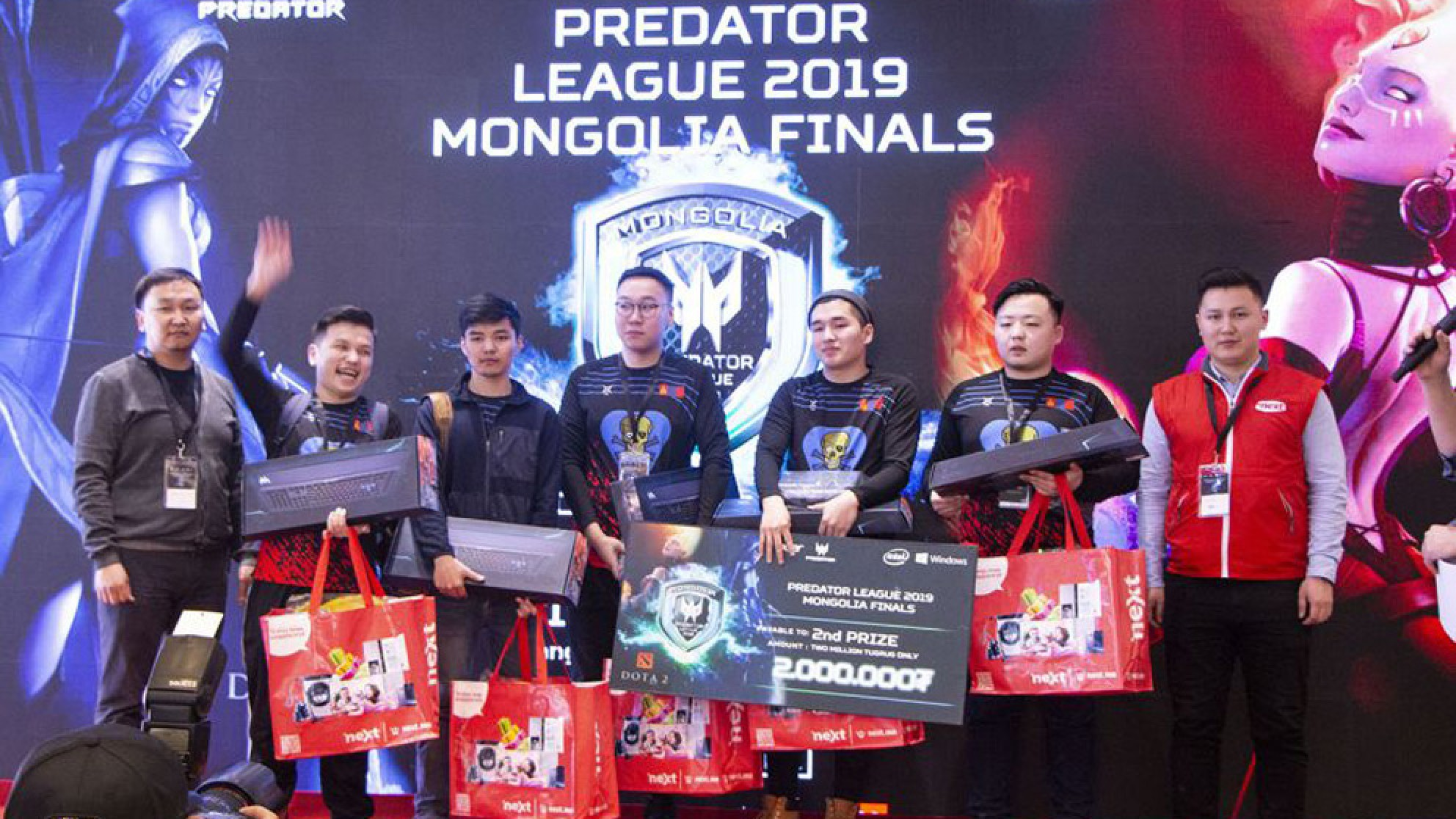 Монгольская команда врывается в большой киберспорт!