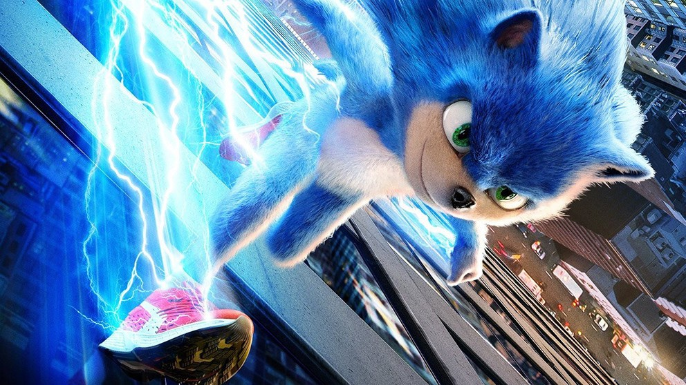First ever trailer for Sonic the Hedgehog movie