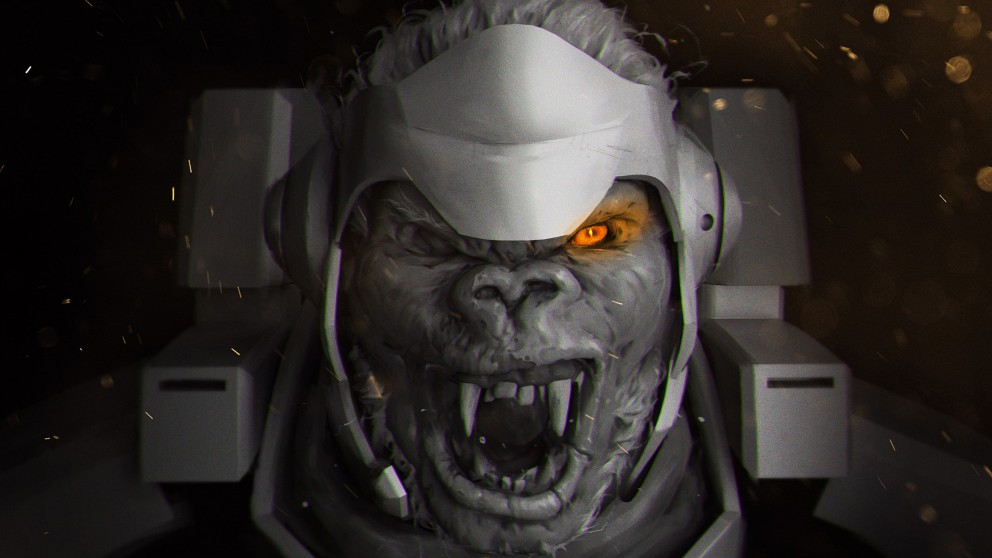 New Gargoyle Winston skin in Overwatch