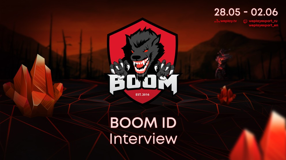 """""""We don't feel the pressure. We are confident!"""" – Fbz from BOOM ID"""