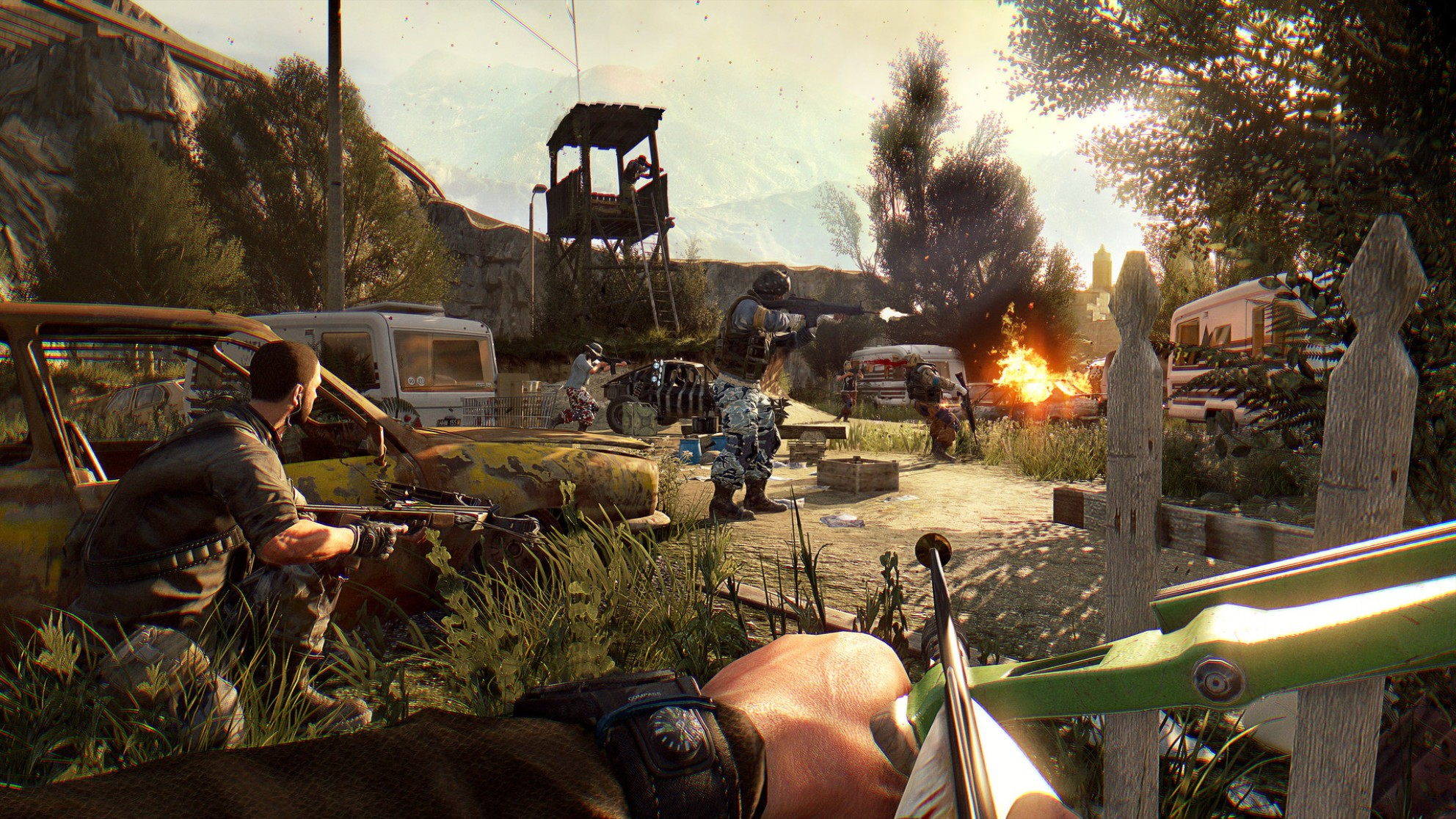 Dying light best weapon locations - secret weapons guide