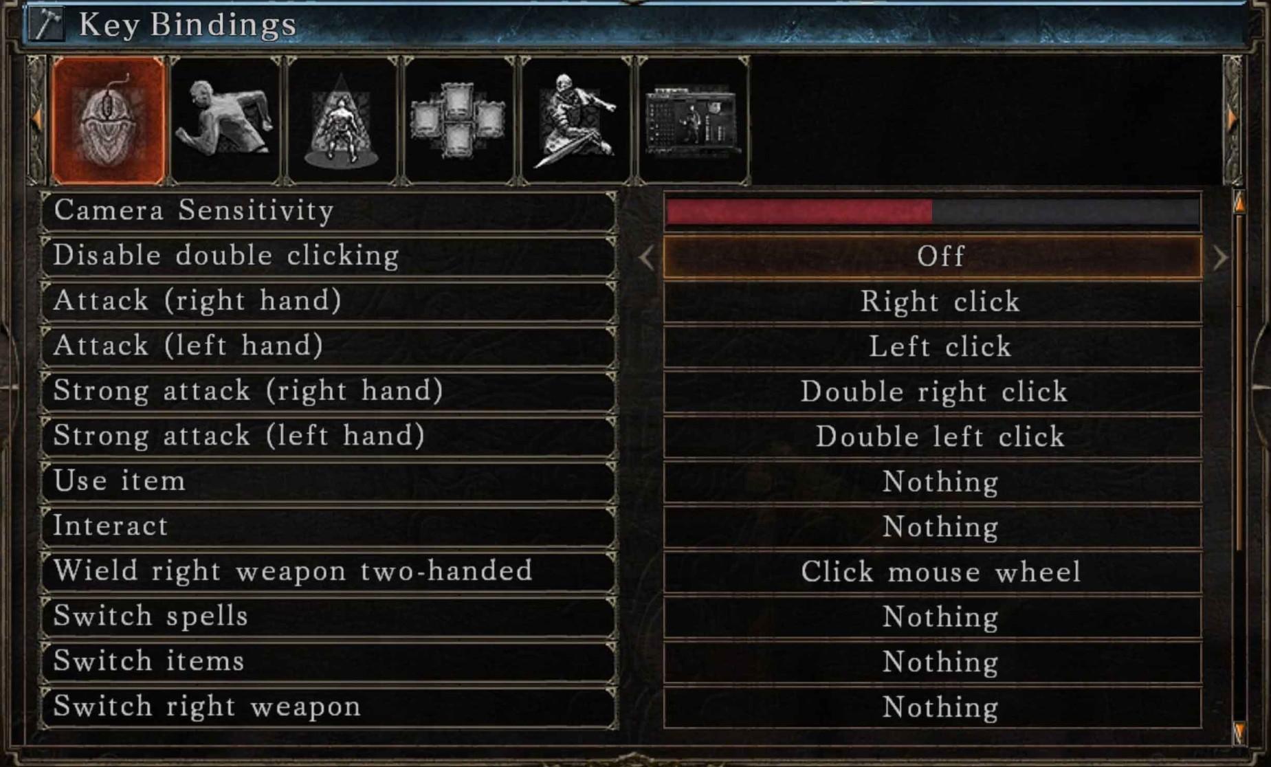 Dark Souls 3: PC Controls