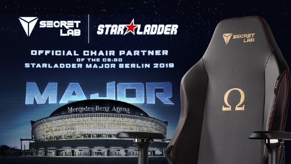 Secretlab become StarLadder Berlin Major 2019 chair partner