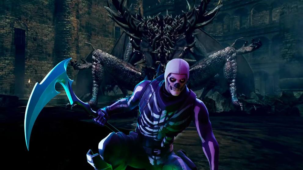 Fortnite has been reimagined as Dark Souls