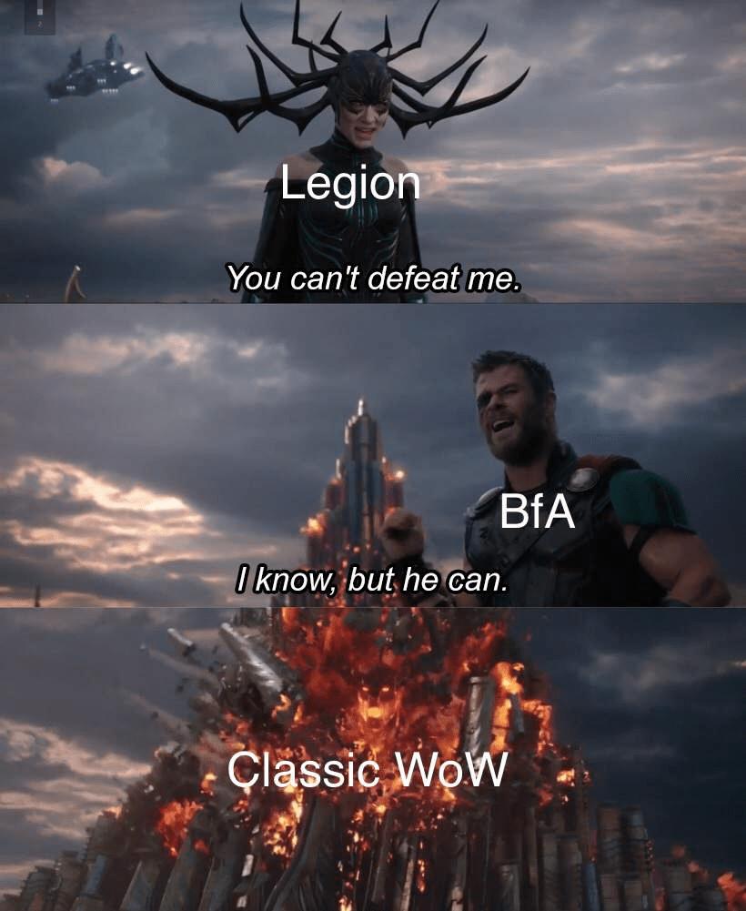 Wow Classic Memes