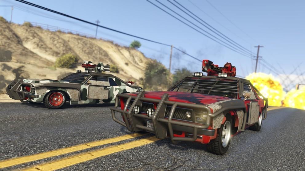 Самые быстрые машины в GTA 5 Online