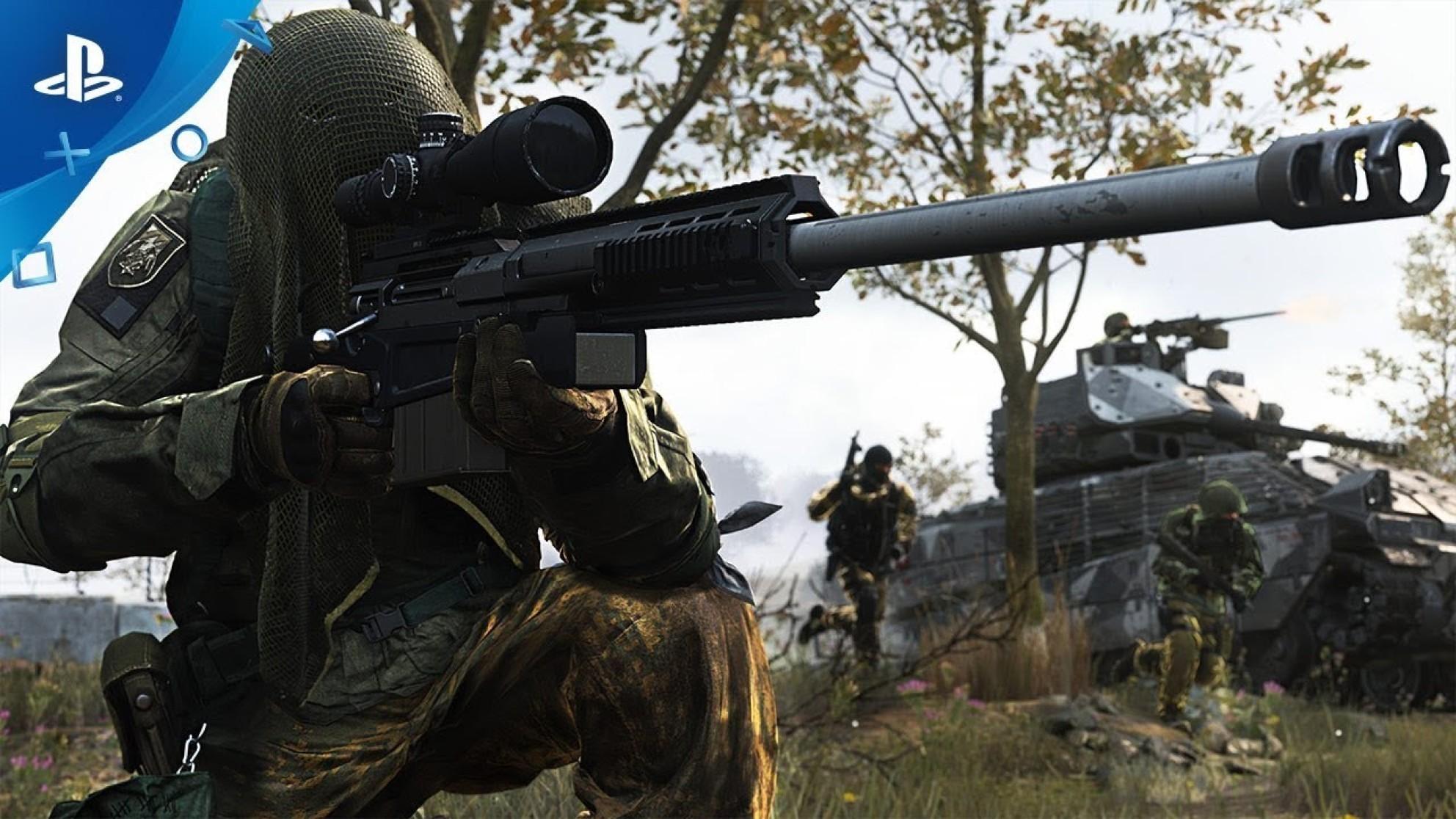Стартовало бета-тестирование Call of Duty: Modern Warfare