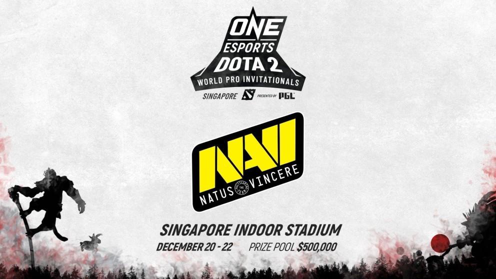 NAVI и Vici Gaming приглашены на ONE Esports Dota 2 Invitational вСингапуре
