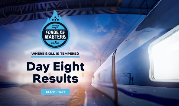 """""""Train driver's diary"""" — Forge of Masters WePlay! League: Day Eight Results"""