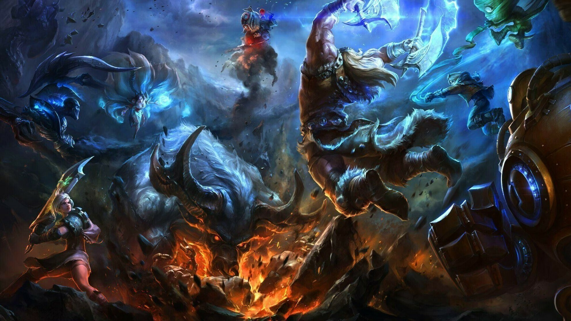Riot Games reportedly planning a League of Legends World Cup