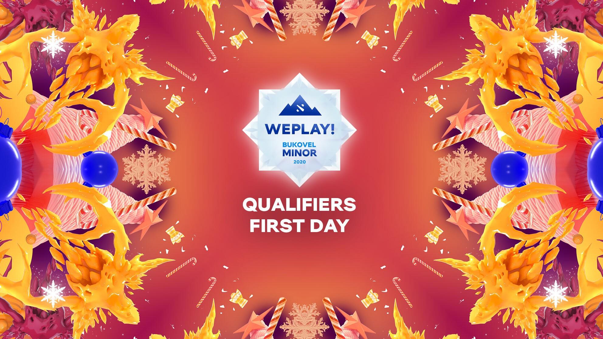 Live: WePlay! Bukovel Minor 2020 Qualifiers