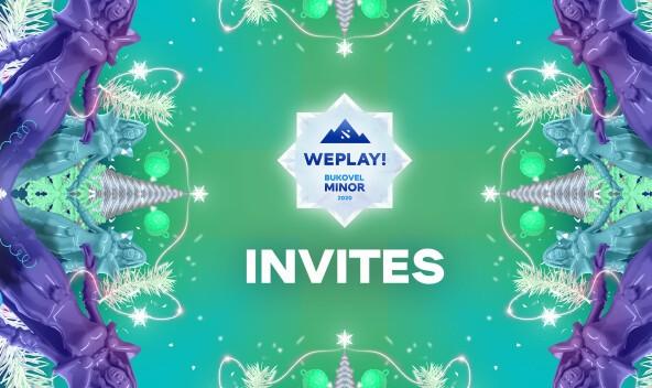 WePlay! Bukovel Minor 2020 Invites