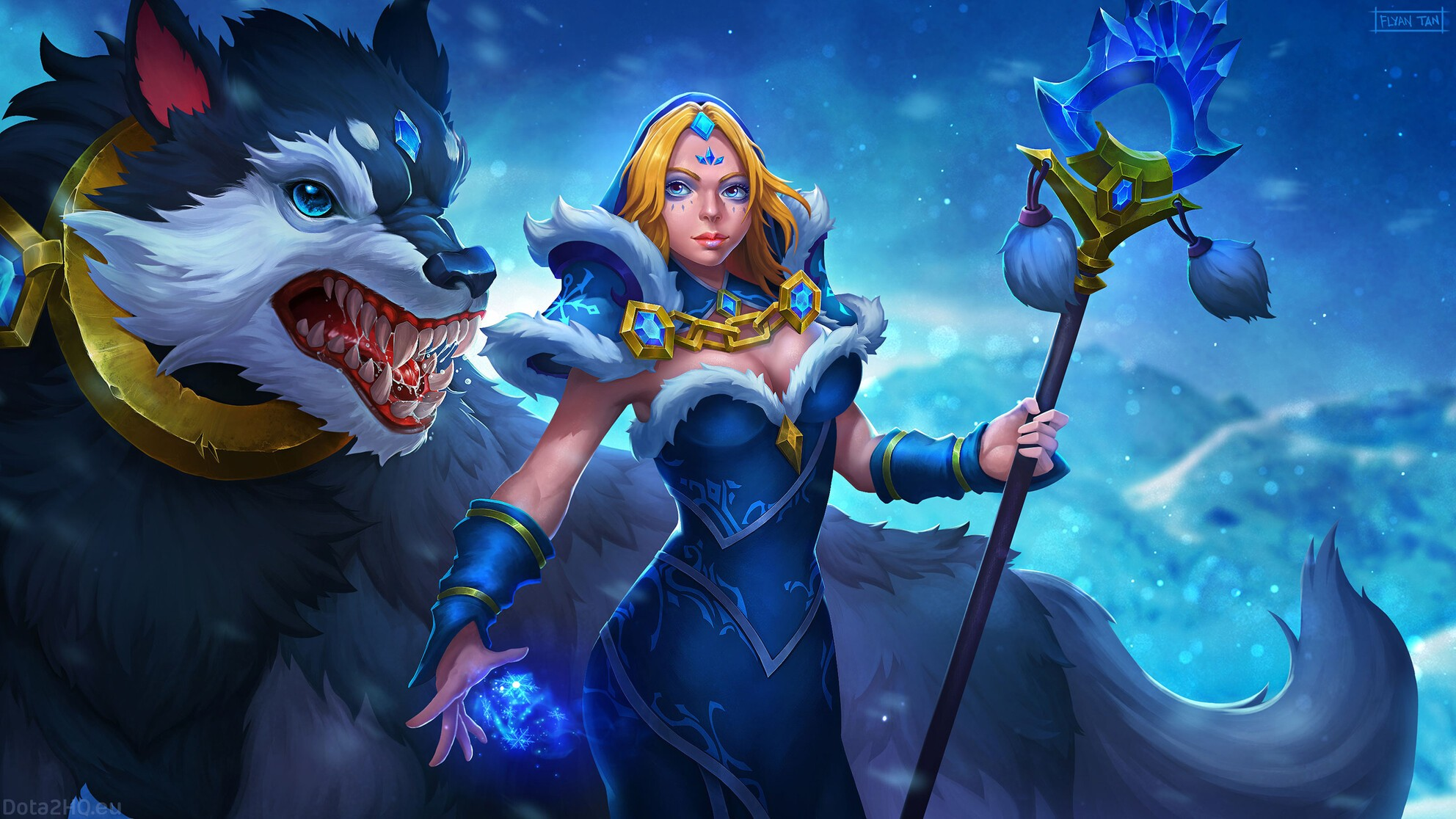 ᐈ The Heroes in Dota 2 - An Introductory Guide for Crystal Maiden • WePlay!