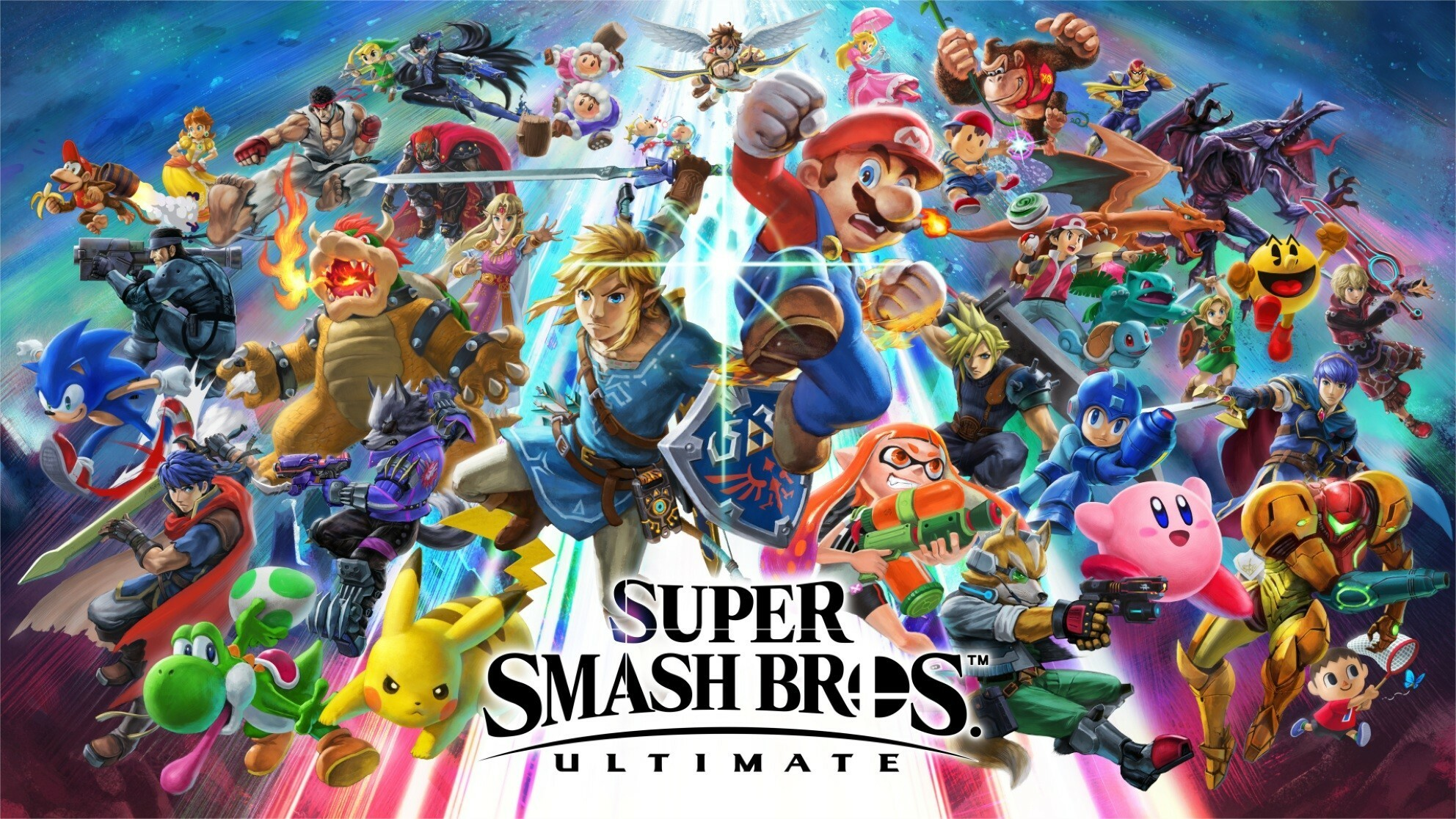 Smash Bros. Ultimate the second most downloaded Nintendo Switch game