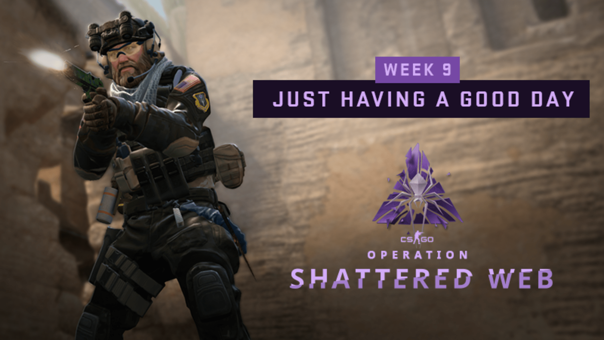 "Shattered Web Week 9 ""Just Having a Good Day"" challenges"