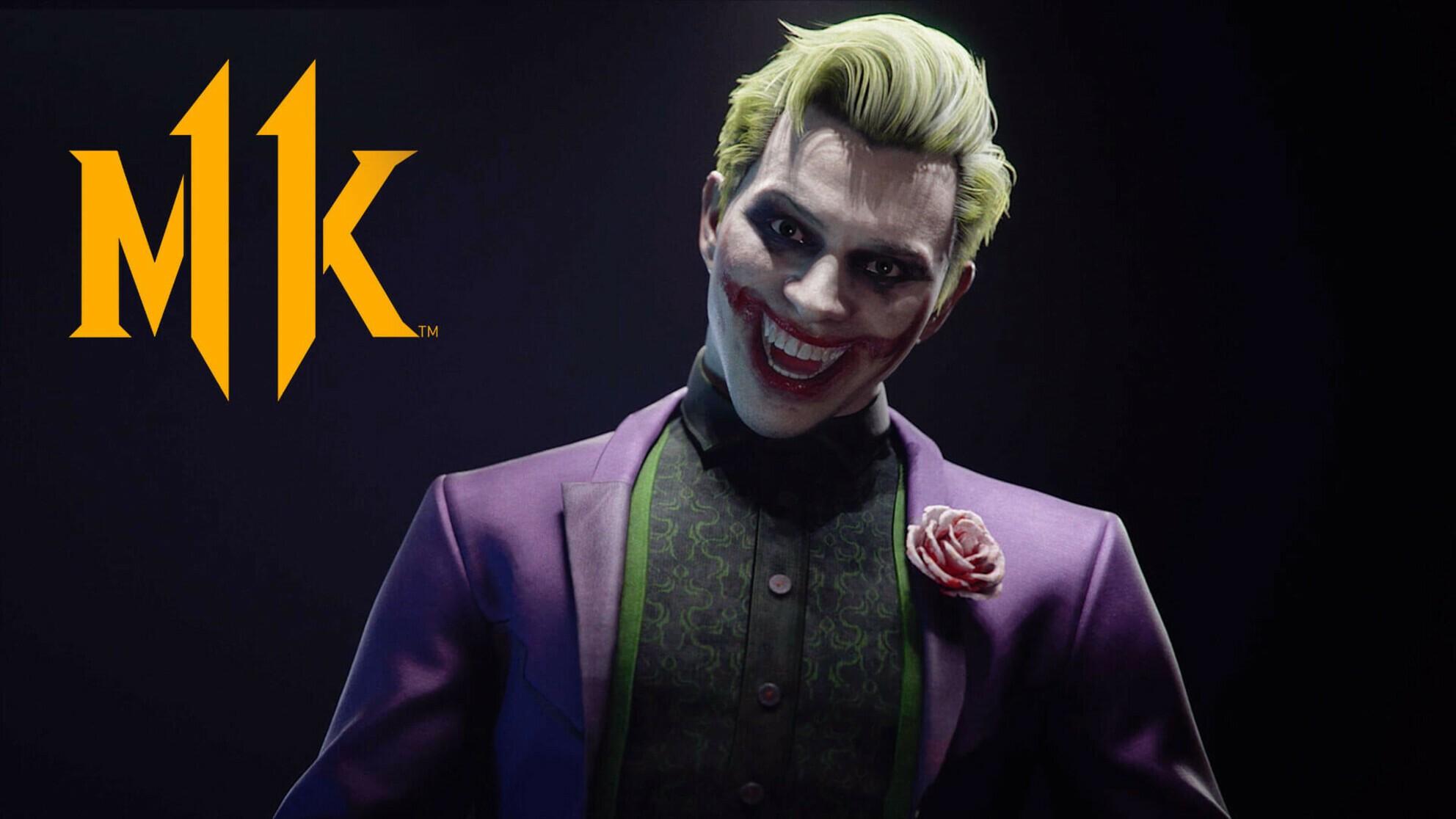 Mortal Kombat 11 Joker gameplay trailer released