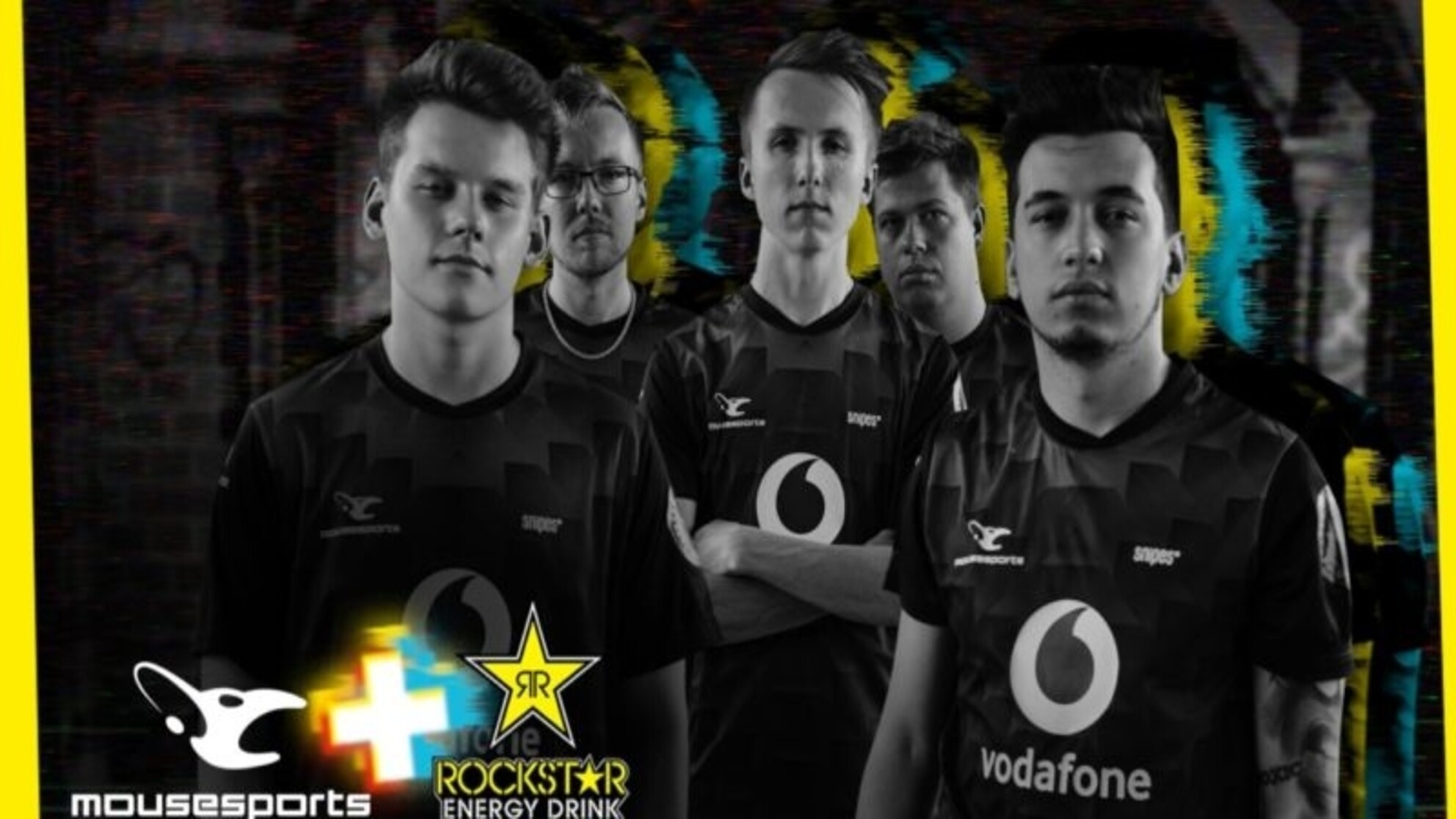 mousesports partners with Rockstar Energy