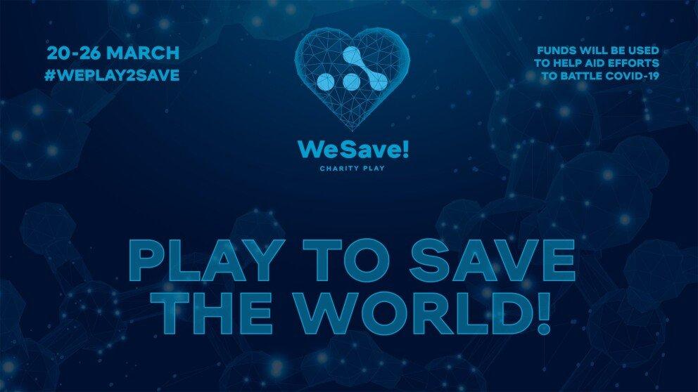 WeSave! Charity Play secret participant!