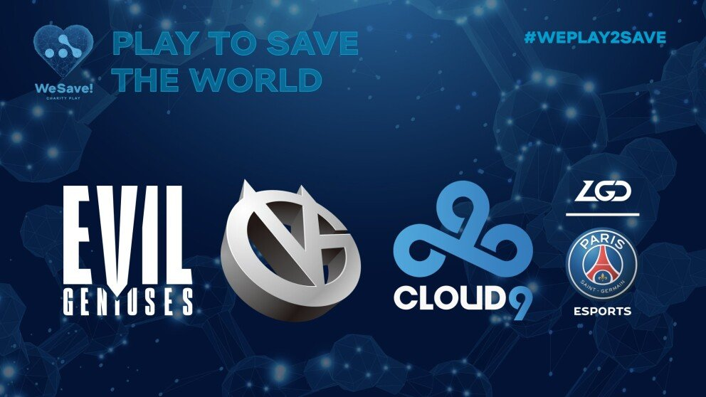 Four new teams join WeSave! Charity Play