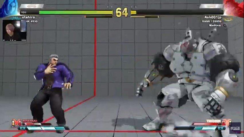 Ken vs Zangief