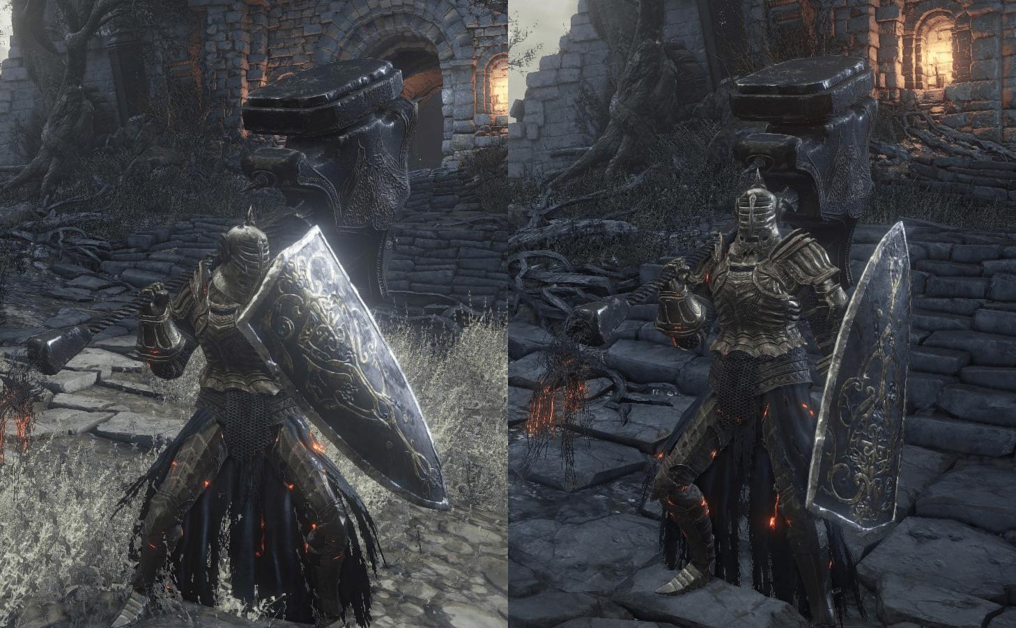 Dark Souls Paladin Set