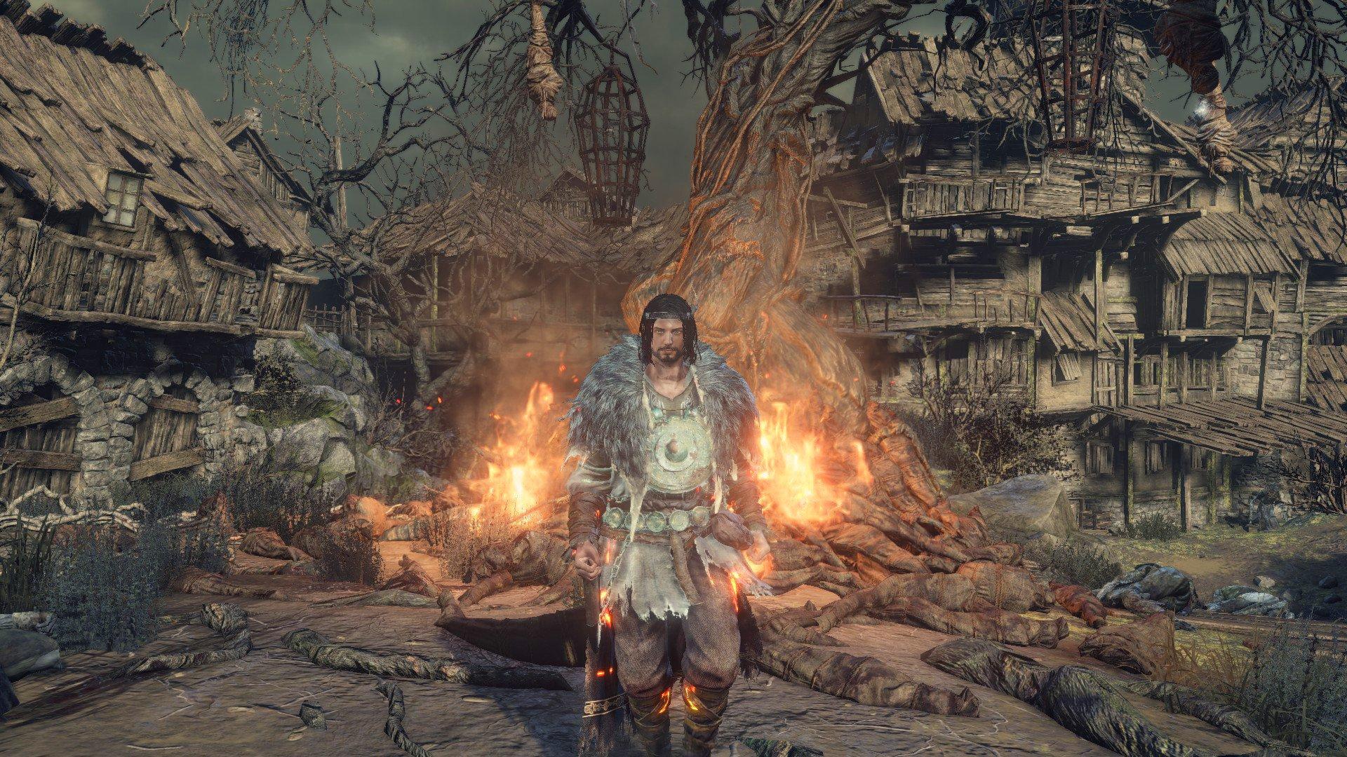 Dark Souls Pyromancer Set