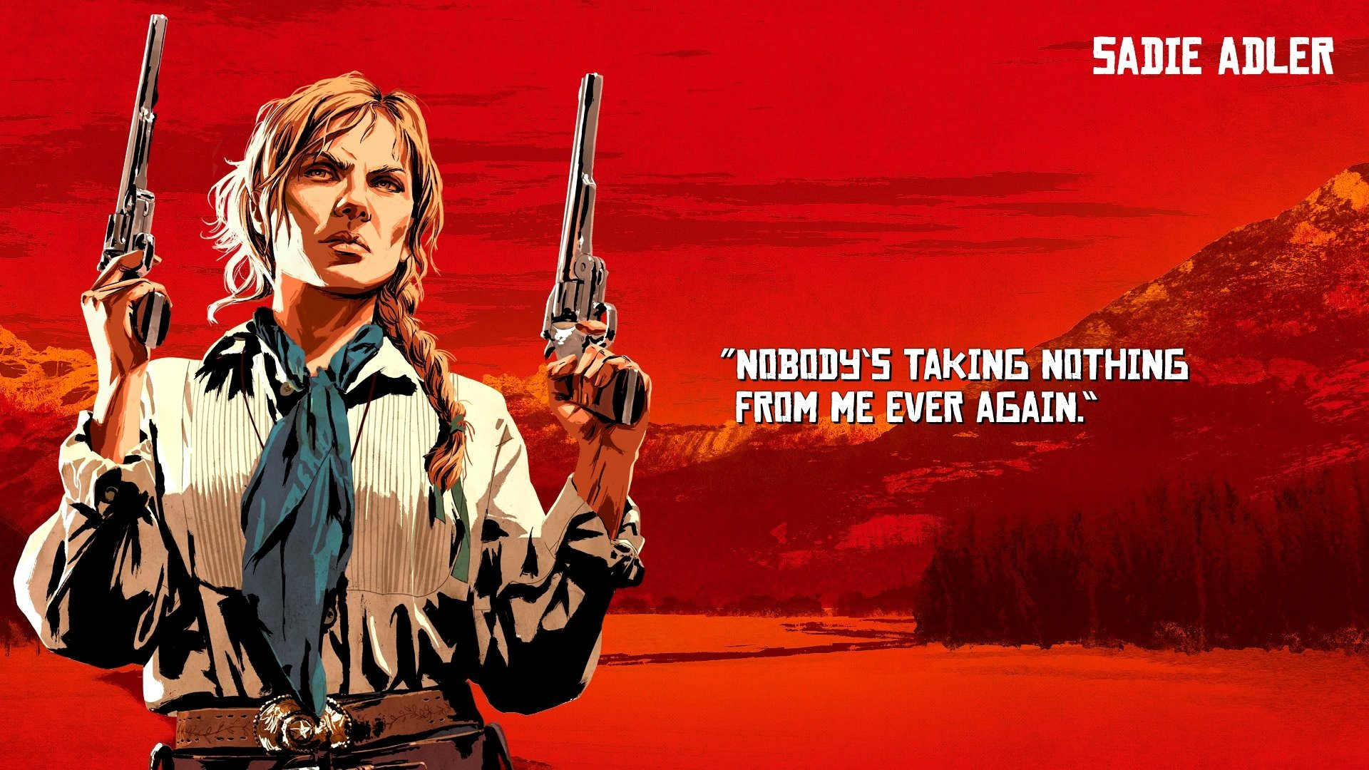red dead redemption 2 character