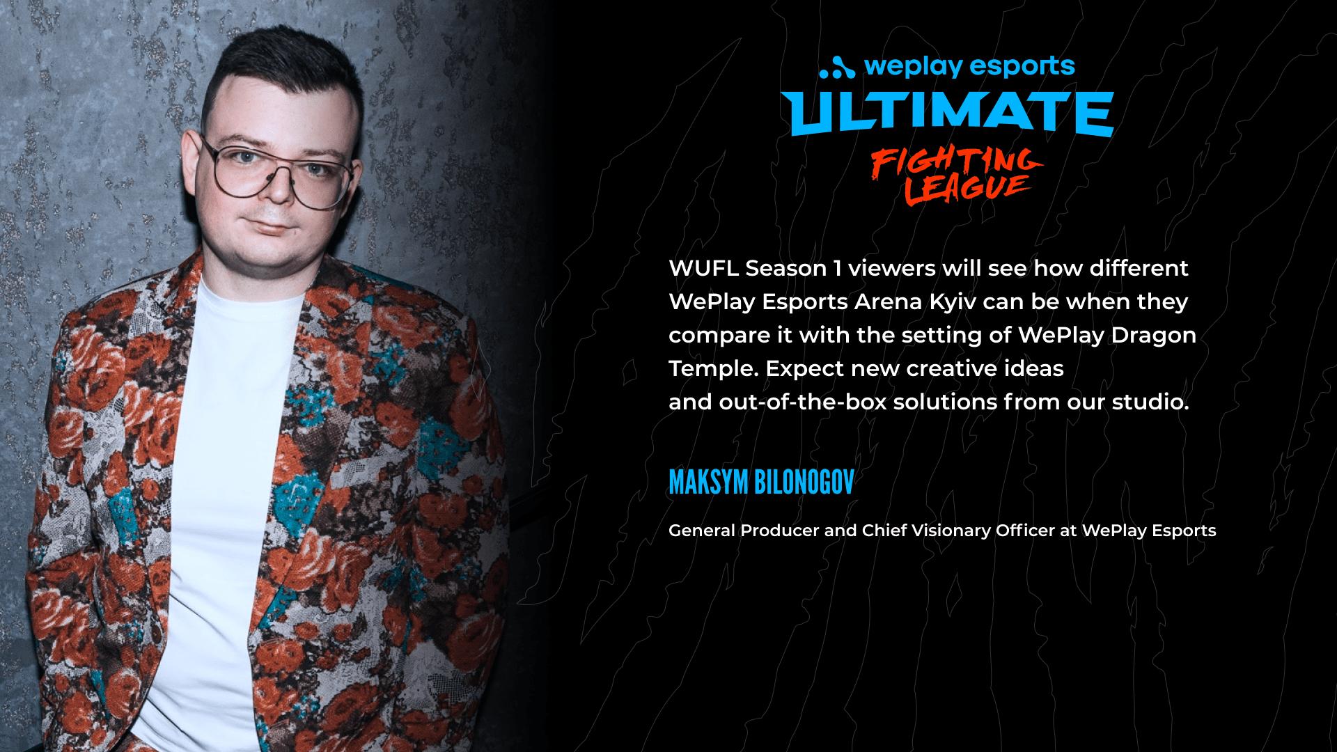 Max Bilinogov speaks about WUFL Season 1