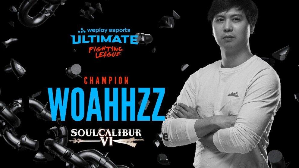 Woahhzz is WUFL S1 SOULCALIBUR VI Champion!