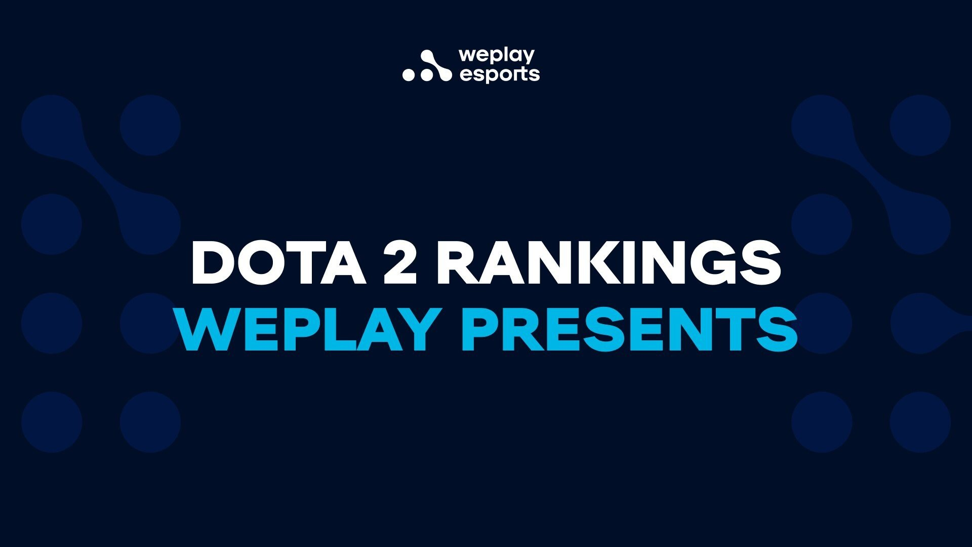 WePlay Rankings: A New Ranking System