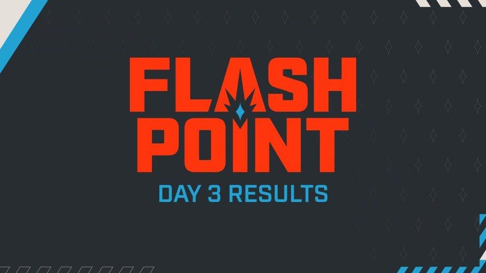 Anonymo и Sprout прошли в основной этап Flashpoint 3