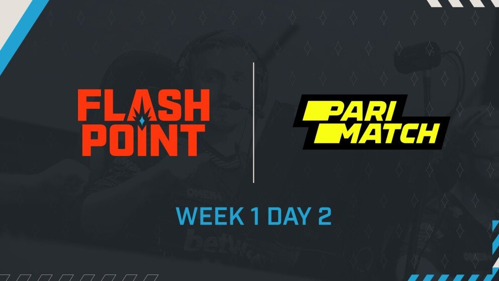 Schedule for Week 1 Day 2 and Results from Week 1 Day 1 of Flashpoint Season 3