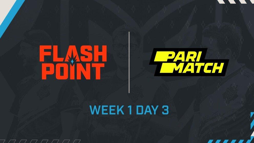 Heroic и FaZe выйдут на арену в третий день Flashpoint 3