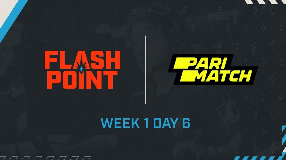 Schedule for Week 1 Day 6 and Results from Week 1 Day 5 of Flashpoint Season 3