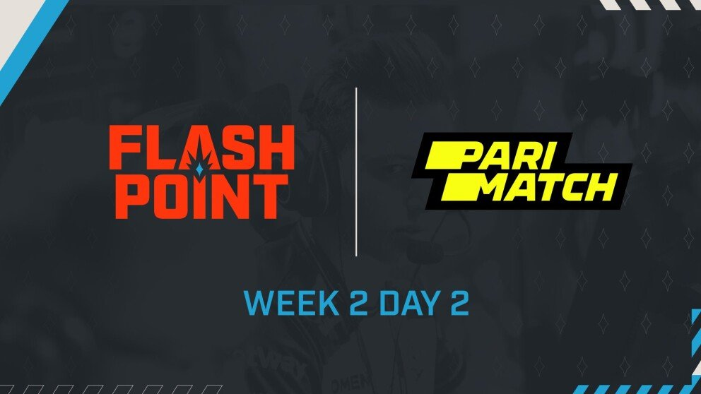 Schedule for Week 2 Day 2 and Results from Week 1 Day 6 of Flashpoint Season 3