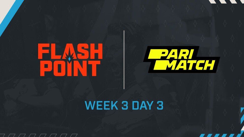 Schedule for Week 3 Day 3 and Results from Week 3 Day 2 of Flashpoint Season 3