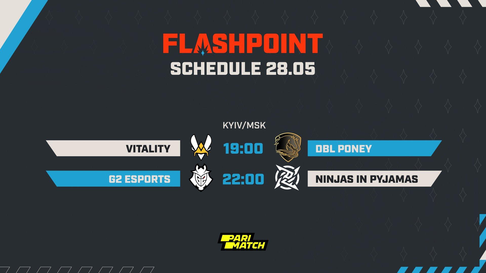 Flashpoint 3 week 3 day 4 schedule