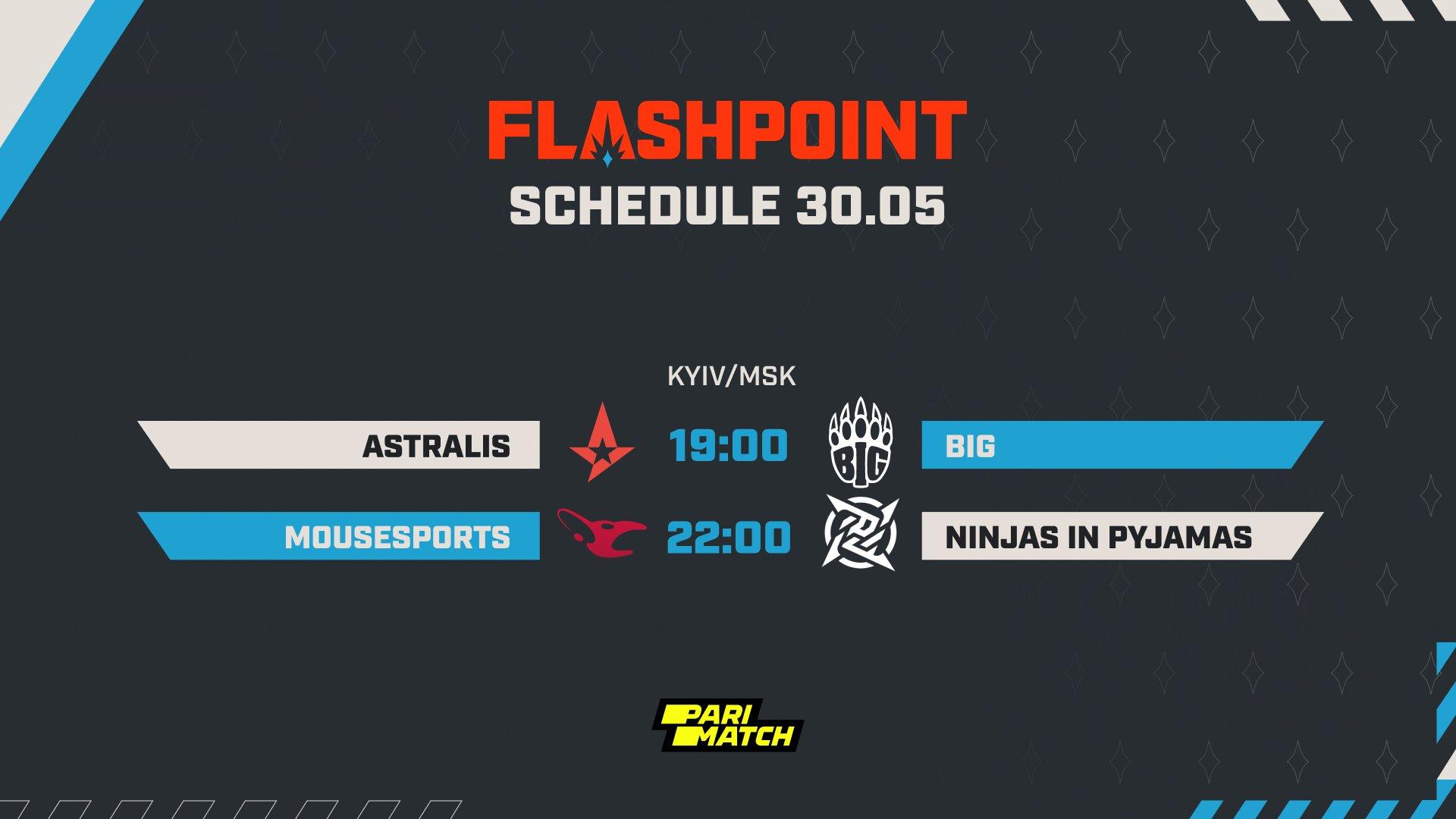 Flashpoint 3 week 3 day 5 schedule