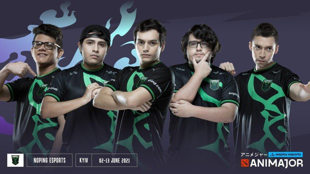 NoPing e-sports — WePlay AniMajor Team Profile