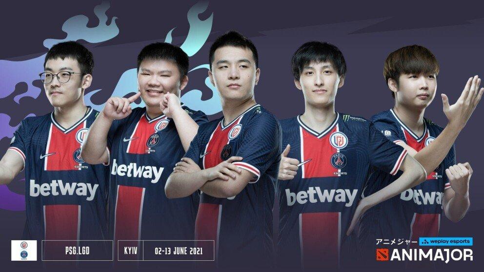 PSG.LGD — WePlay AniMajor Team Profile